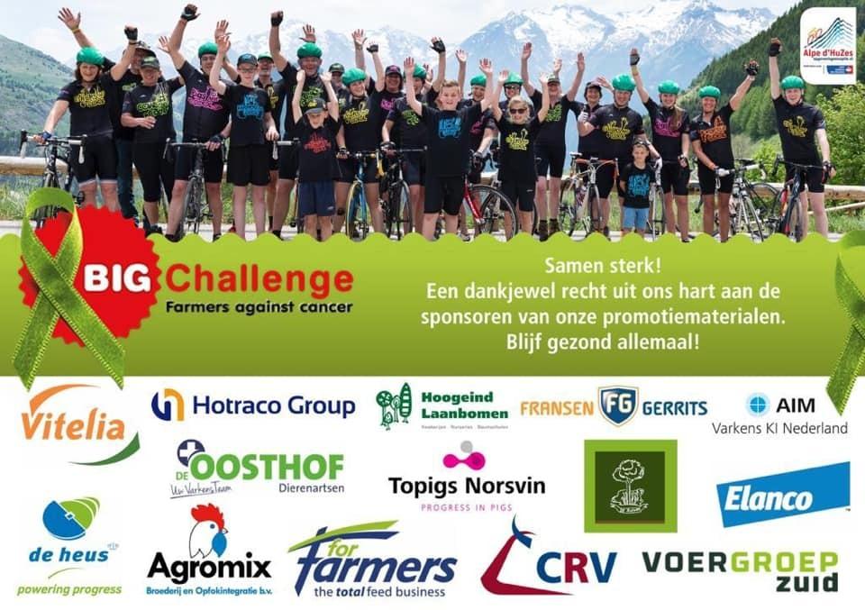 De Oosthof steunt BIG Challenge