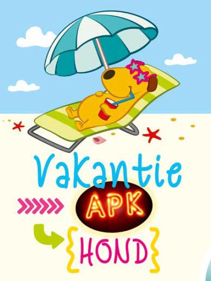 Vakantie APK en Checklist