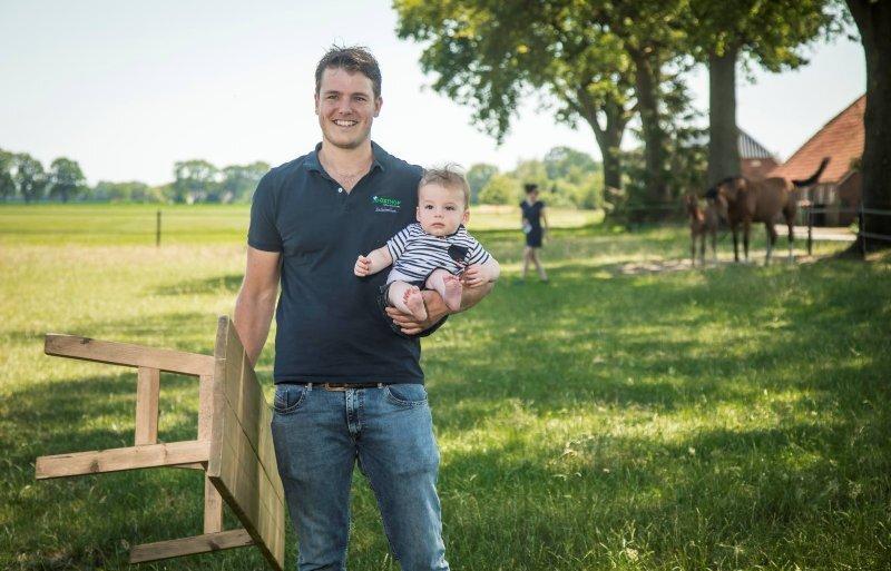 Varkensnl Teamspirit en werklust kenmerken dierenarts Tom Verbrugge